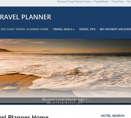 Discount Travel Planner